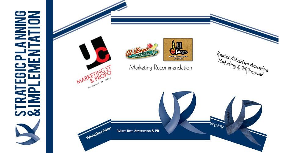 Strategic Marketing Planning White Rice Advertising